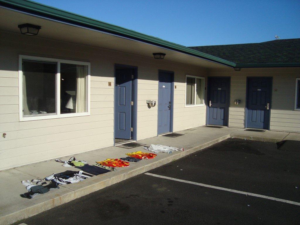 Wasche Wäsche Motel Newport Oregon