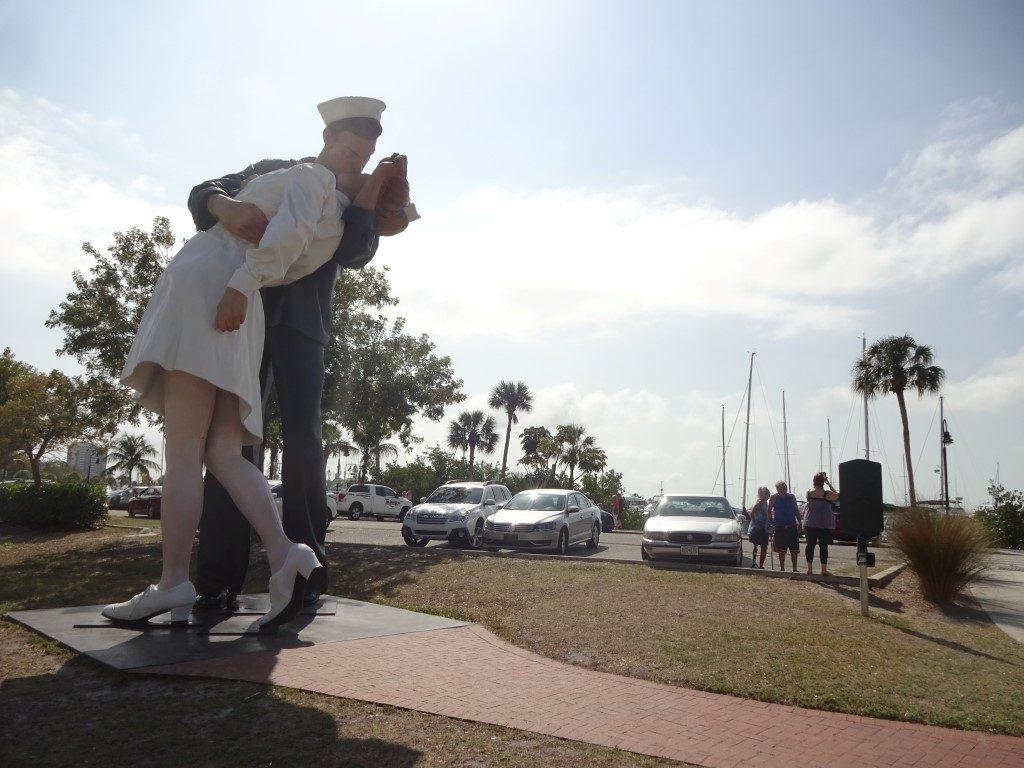 Unconditional Surrender Seemann Matrose Krankenschwester Krieg Kuss Sarasota Florida
