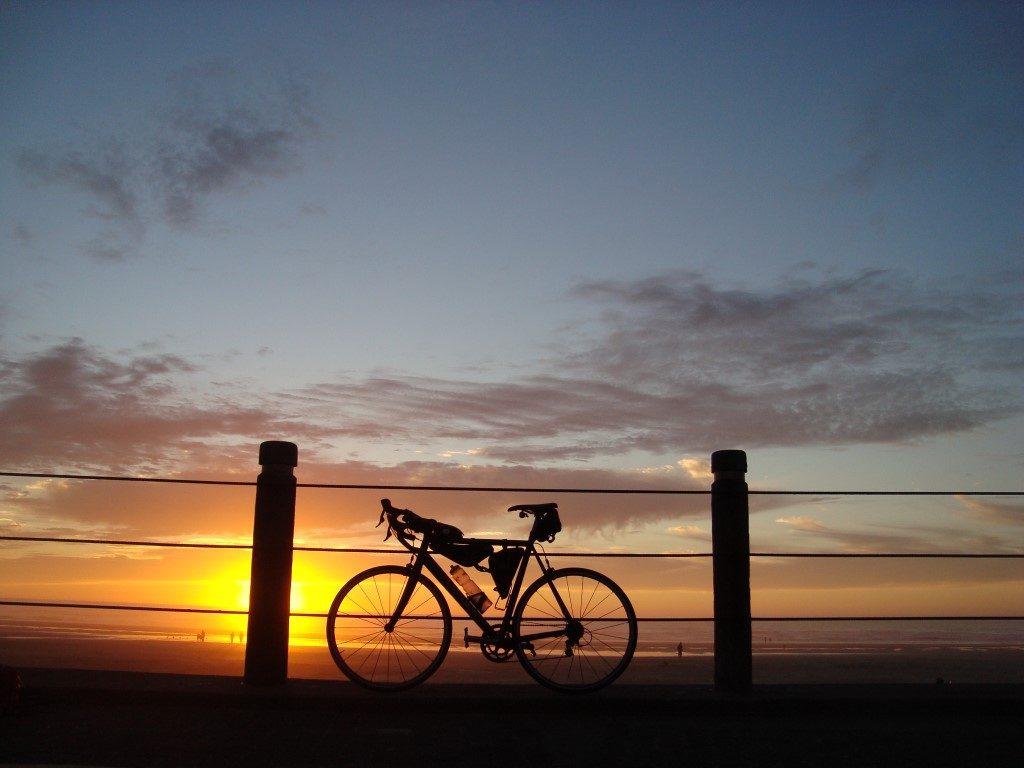 Sonnenuntergang Newport Oregon