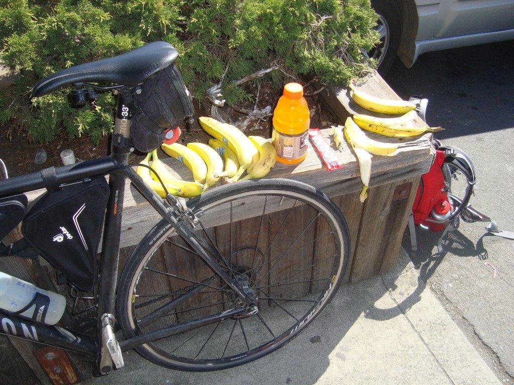 Banane Verpflegung Rad Energie Verdauung optimal