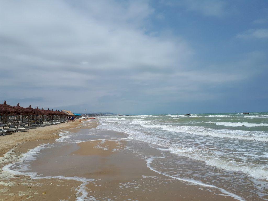 Meer Wind Wellen Ironman 70.3 Pescara Italien