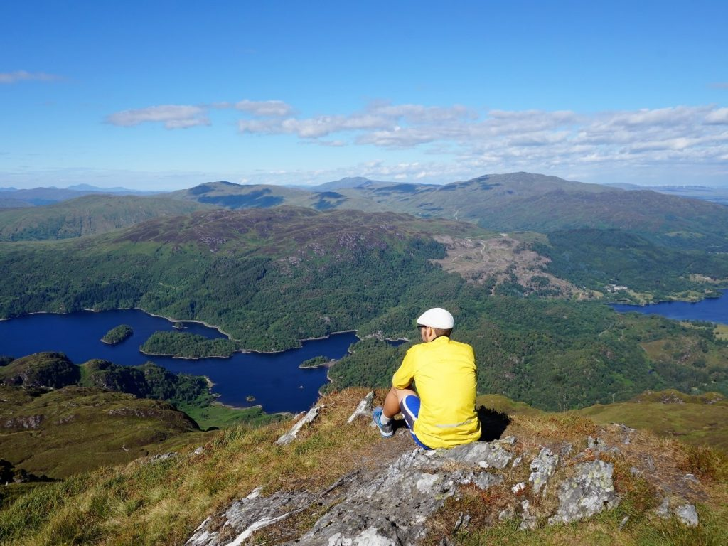 Ben Venue Loch Lomond Nationalpark Highlands Schottland
