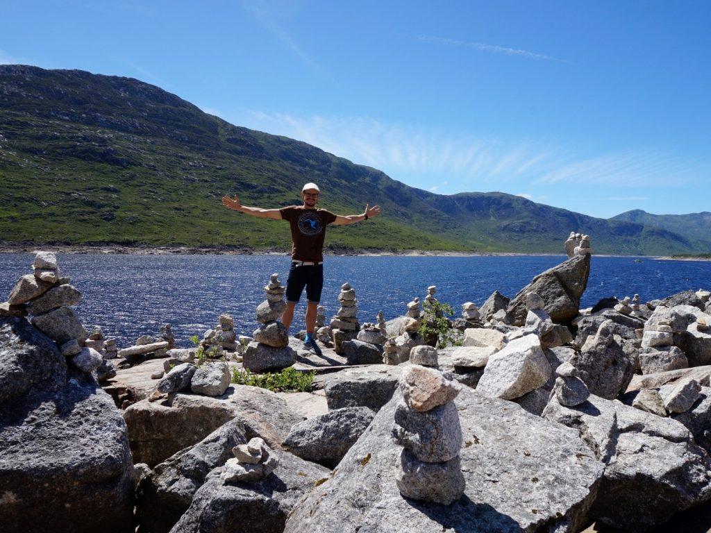 Loch Cluanie Highlands Schottland
