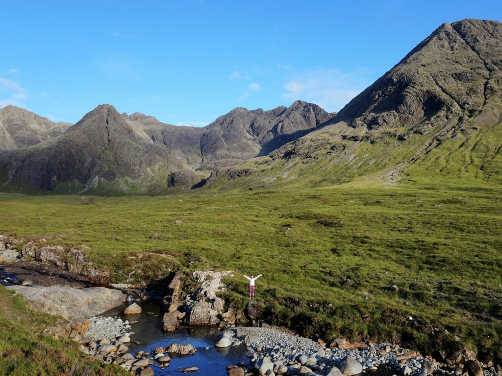 Fairy Pools Isle of Skye Highlands Schottland