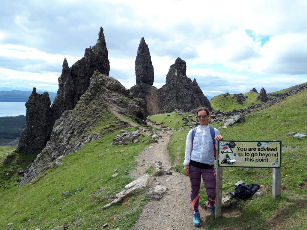 Old Man Storr Isle of Skye Highlands Schottland
