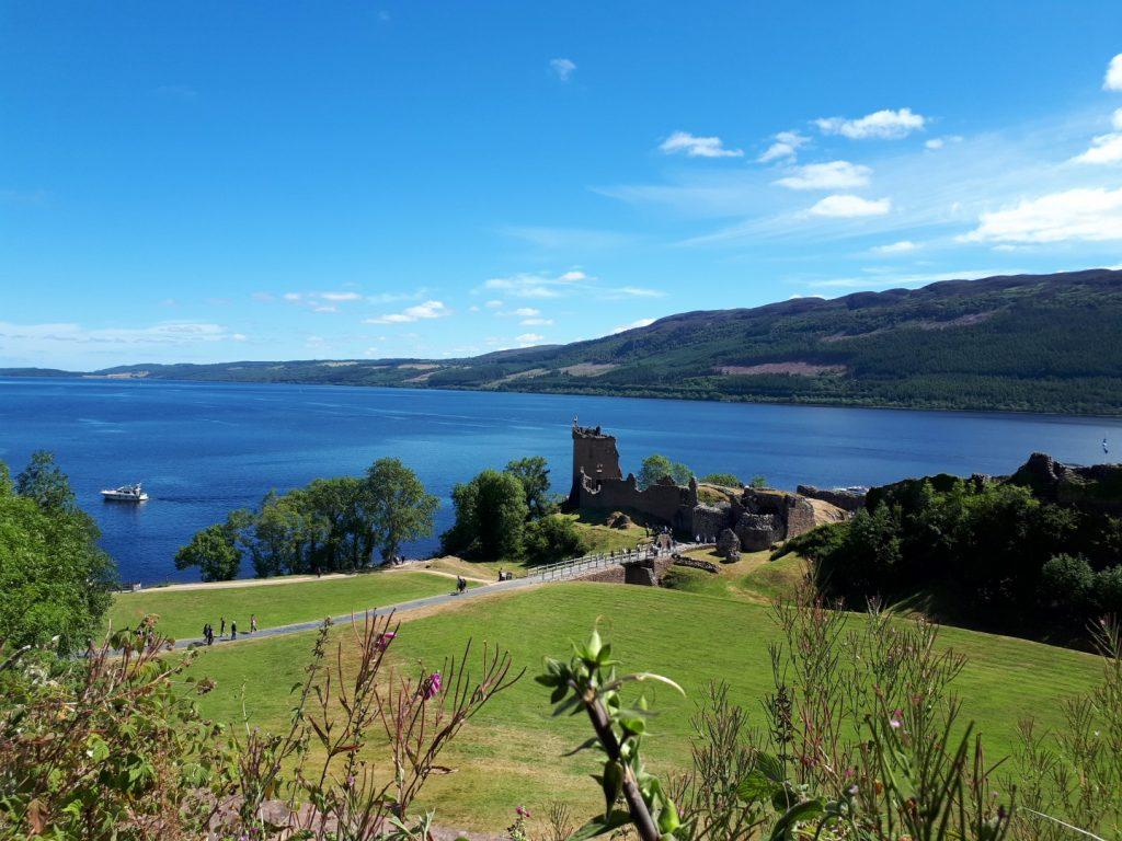 Urquhart Castle Loch Ness Highlands Schottland