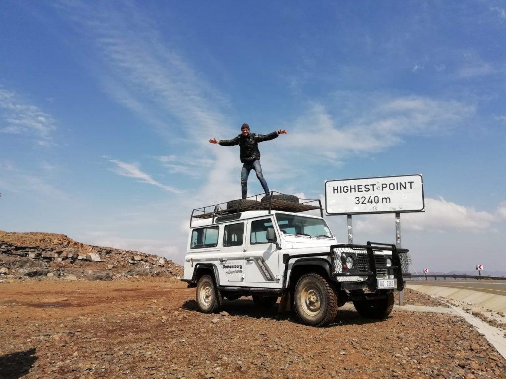 höchster Punkt Tour Lesotho