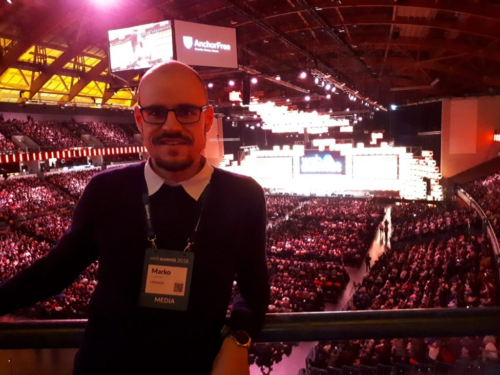 Web Summit Center Stage Altice Arena Lissabon