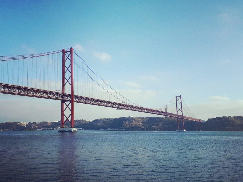 Ponte 25 de Abril Lissabon Portugal