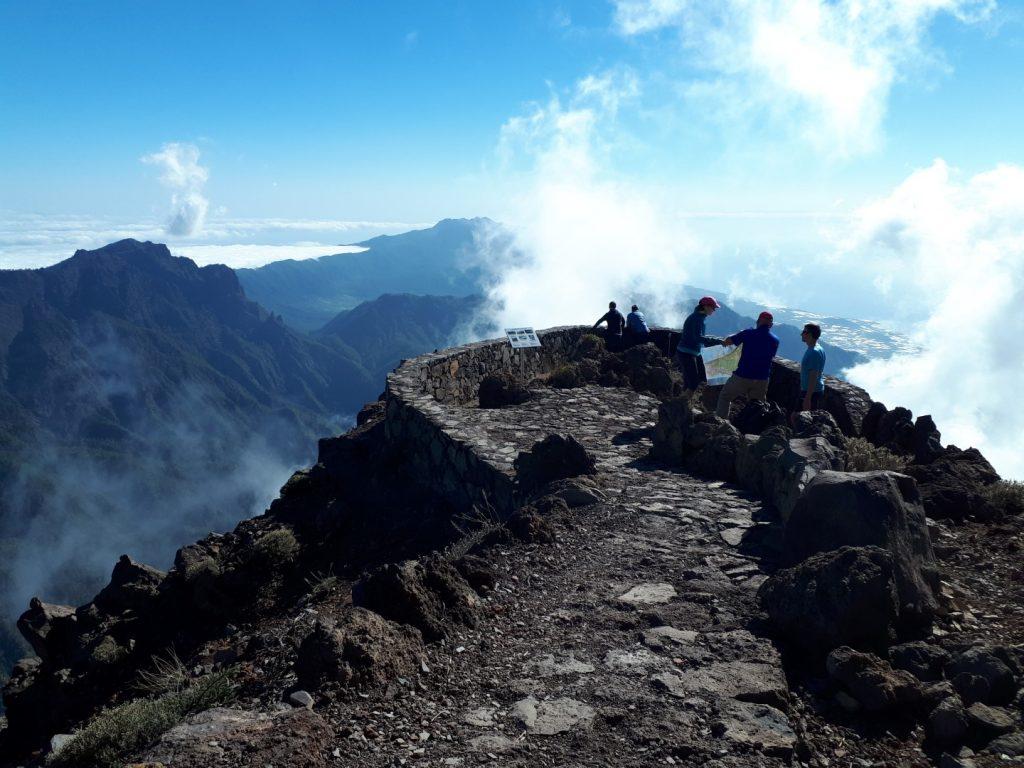 Aussicht Roque Los Muchachos La Palma Kanaren