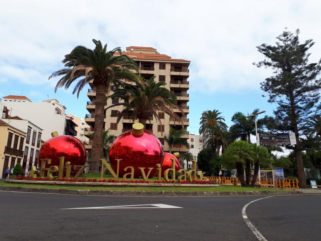 Weihnachten Santa Cruz La Palma Kanaren