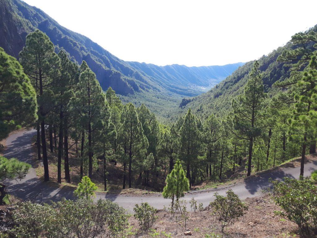 La Cumbrecita Aussicht La Palma Kanaren