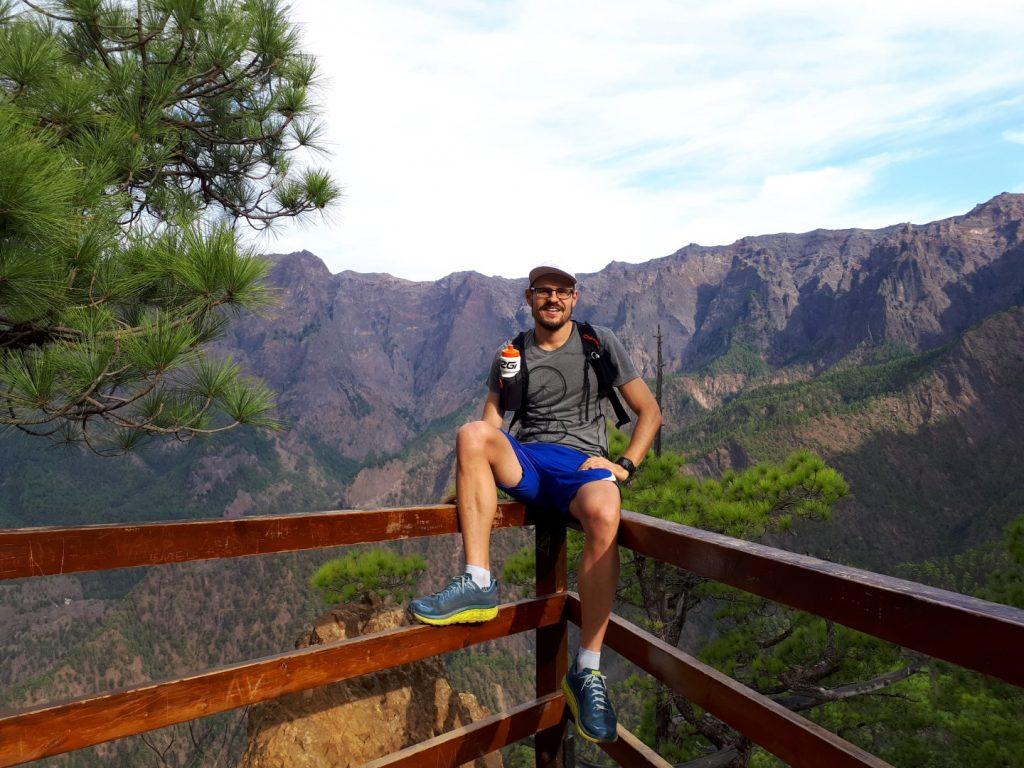 La Cumbrecita Caldera Aussichtspunkt La Palma Kanaren