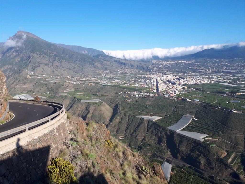 Aussicht Mirador el Time La Palma Kanaren