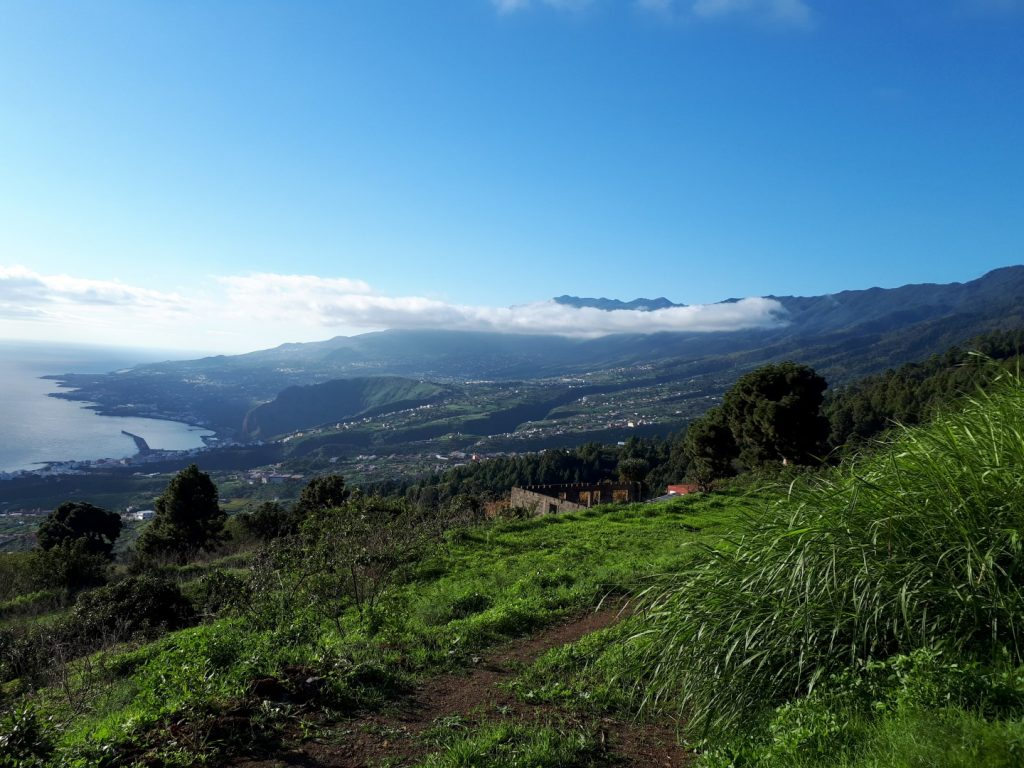 Aussicht Santa Cruz La Palma Kanaren