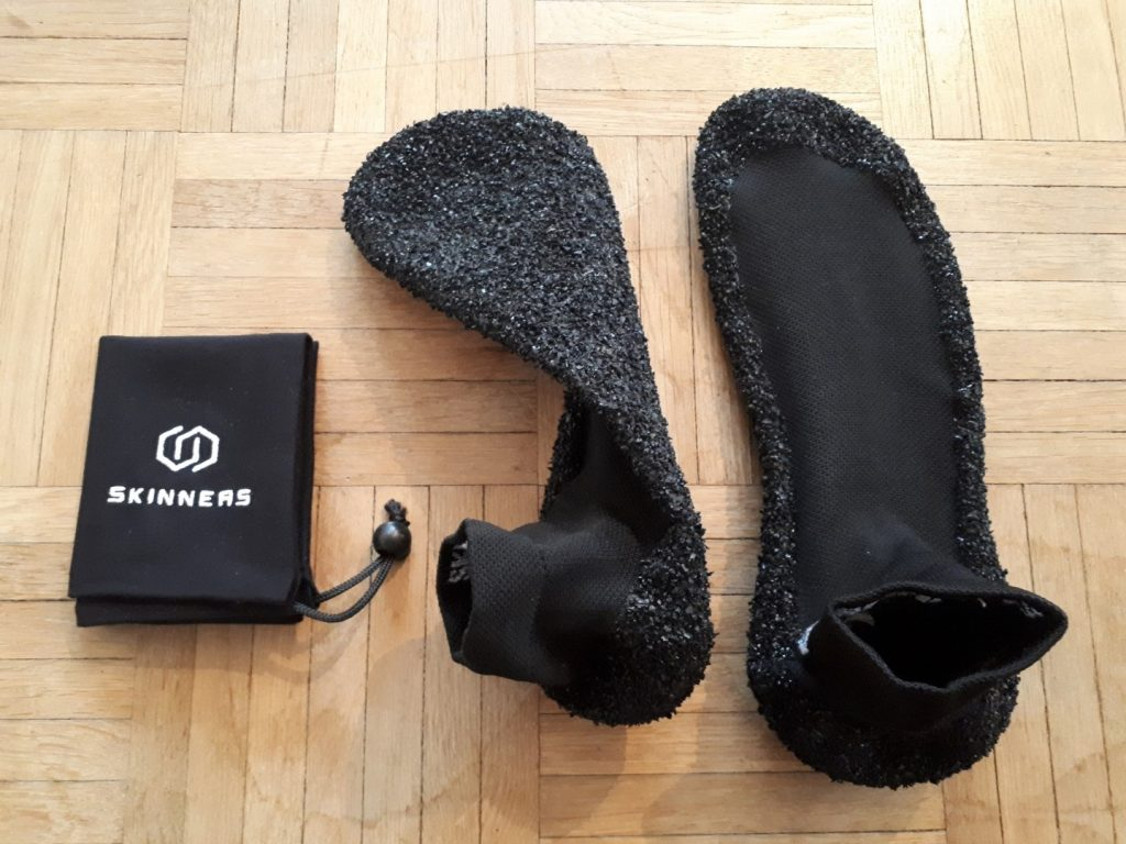Barfuß Barfußschuh Skinners Socken verstärkte Unterseite Verletzungen