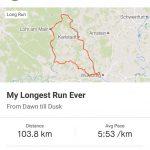 längster langer Lauf Würzburg Strava