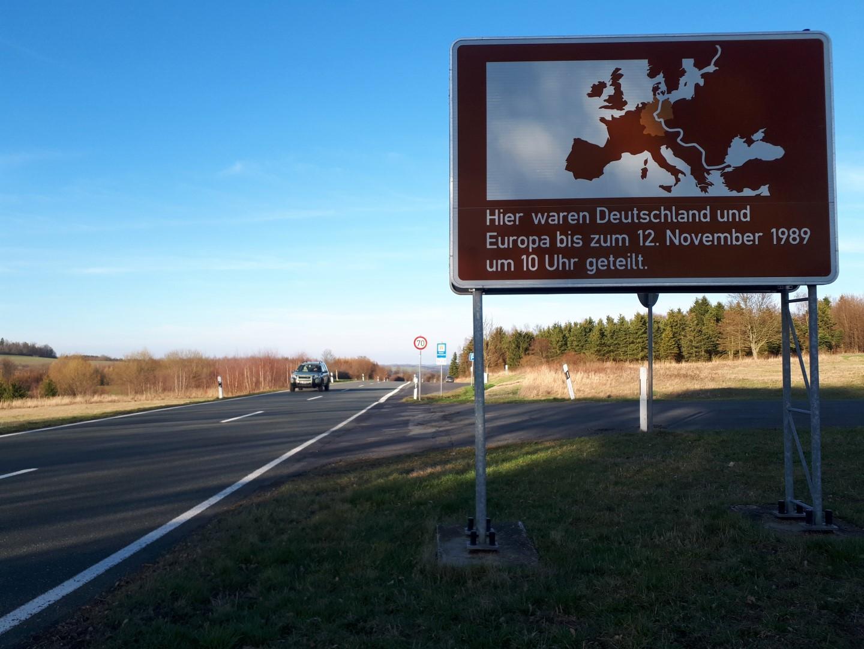 Grenze Westen Osten früher Deutschland