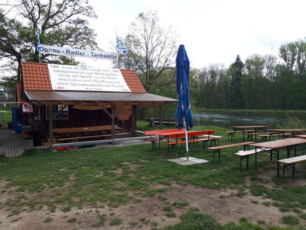 Offingen Donau Radler Tankstelle Run Across Germany Deutschlandlauf