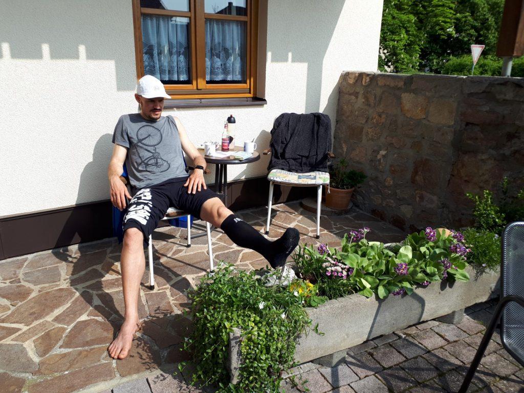 Sondheim Marko Gränitz Run Across Germany Deutschlandlauf
