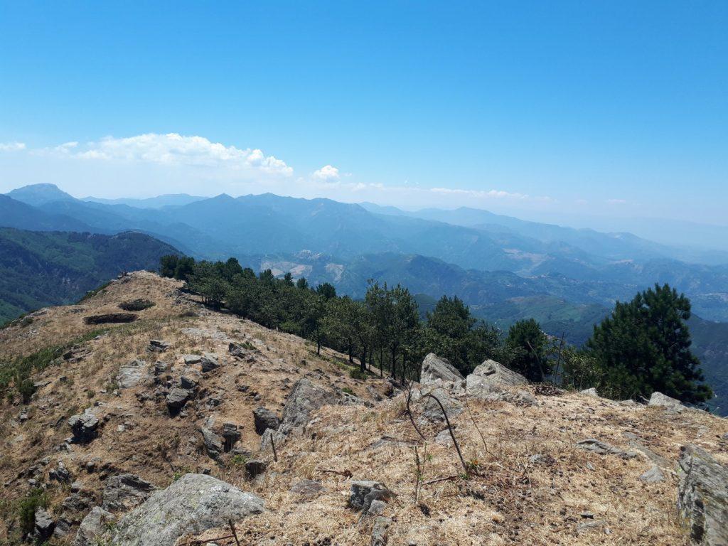 Gipfelpfad Sizilien Italien