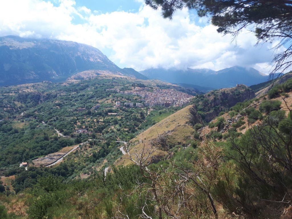 Isnello Parco delle Madonie Sizilien Italien