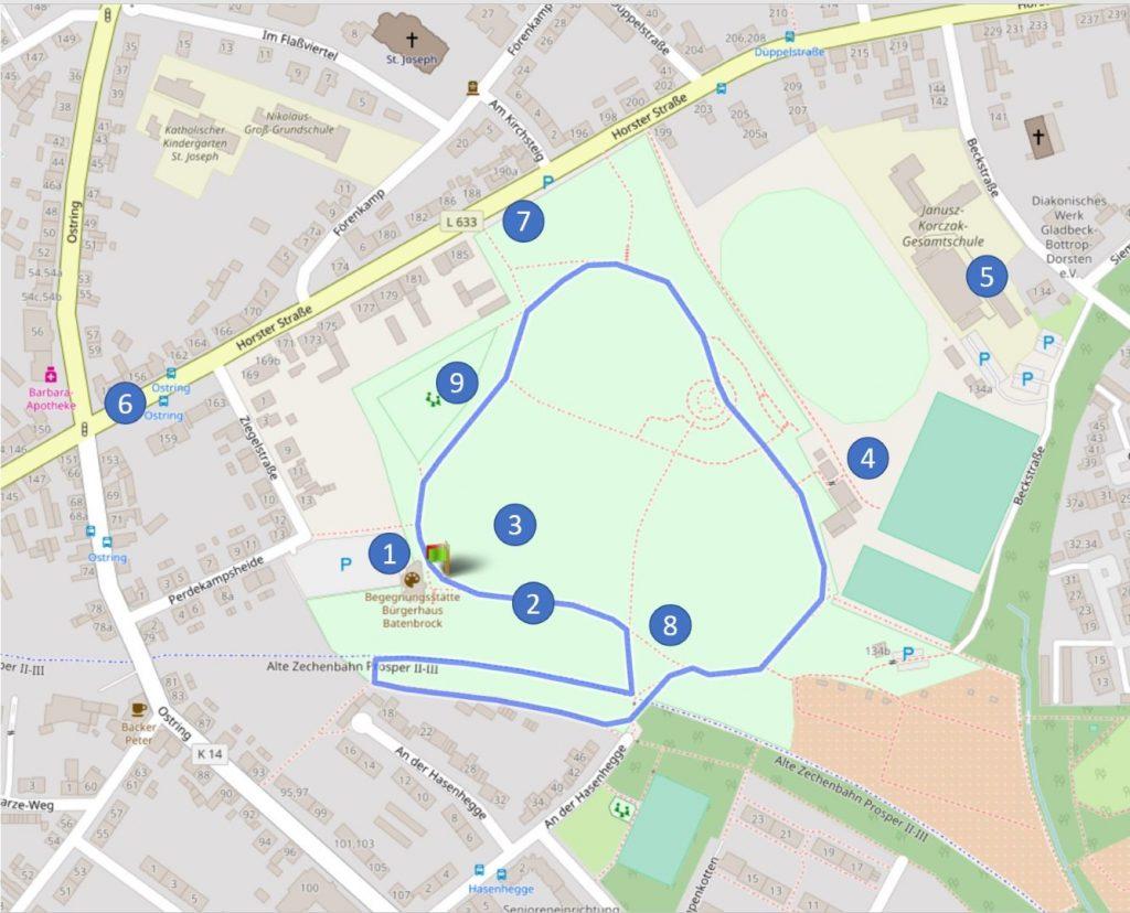 24 Stunden Lauf Deutsche Meisterschaft 2019 Runde Bottrop Batenbrock Park
