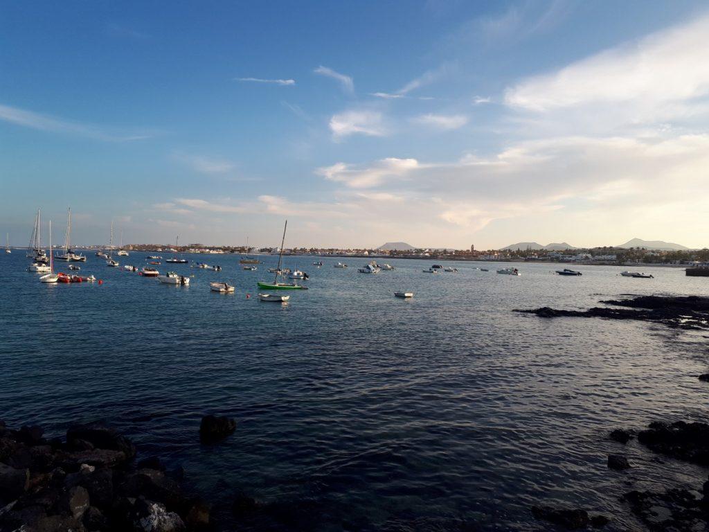 Hafen Corralejo Fuerteventura Kanaren