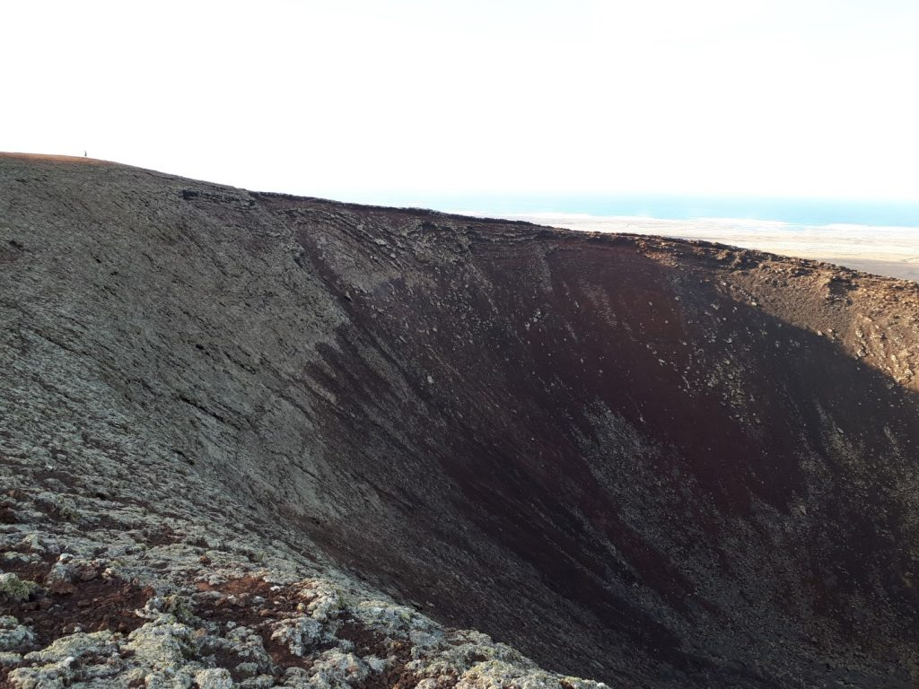 Krater Vulkan Caldero Hondo Fuerteventura Kanaren