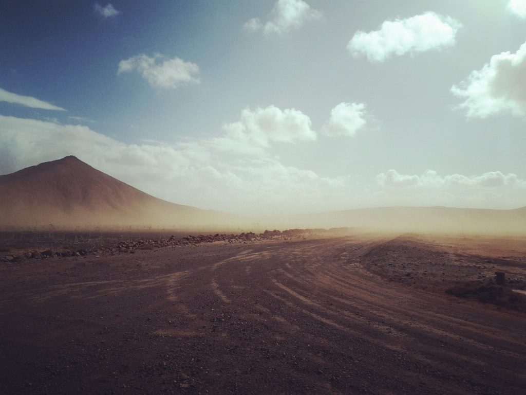 Sandsturm Fuerteventura Kanaren