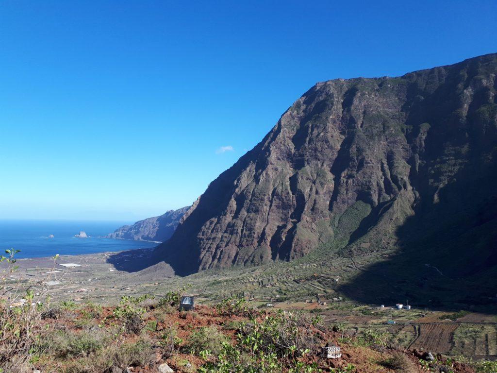 Bergmassiv Bergkette Frontera El Hierro Kanaren