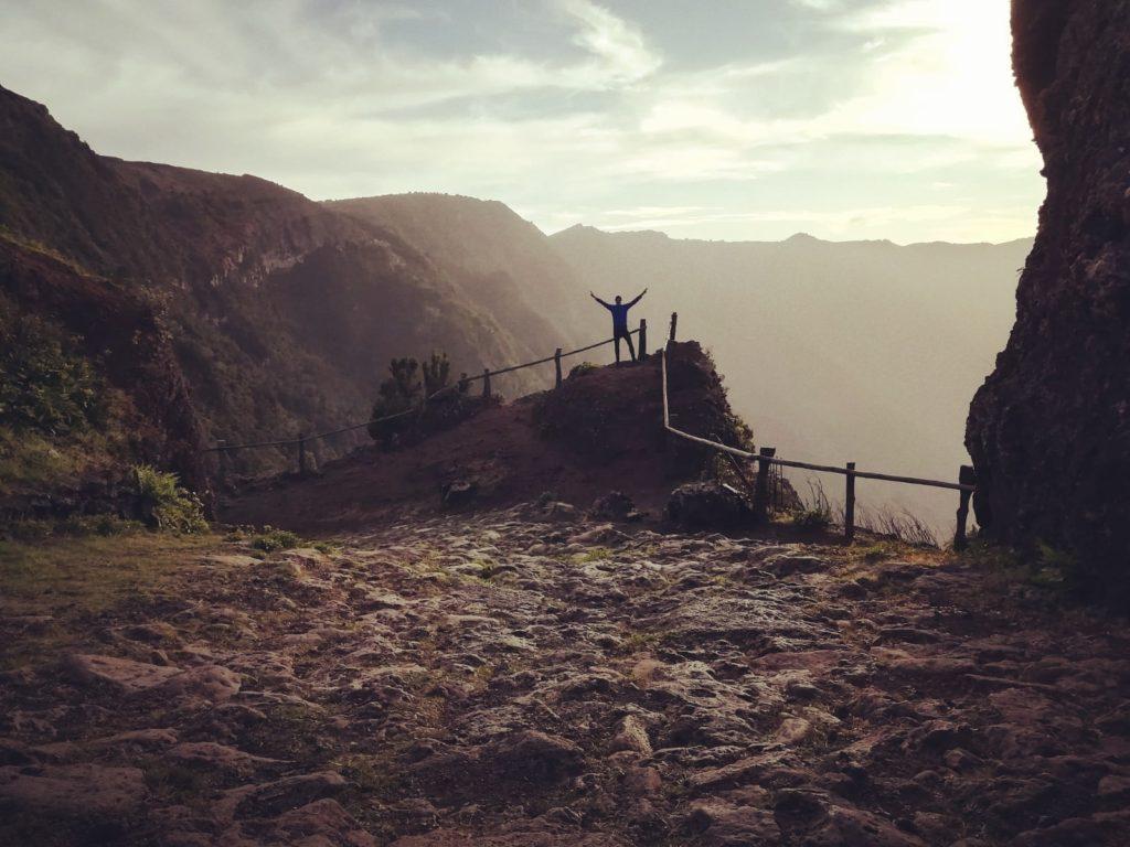Aussichtpunkt Mirador Jinama Trail Wanderweg El Hierro Kanaren