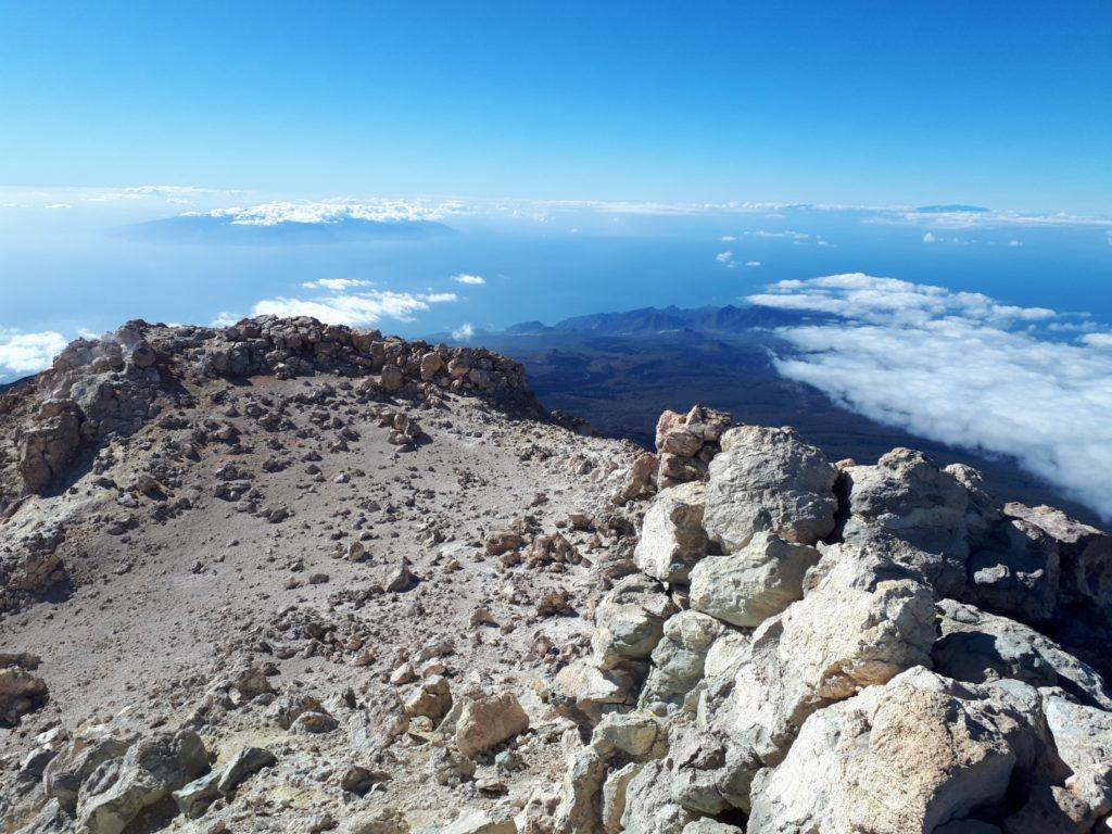 Aussicht Pico del Teide Teneriffa Kanaren