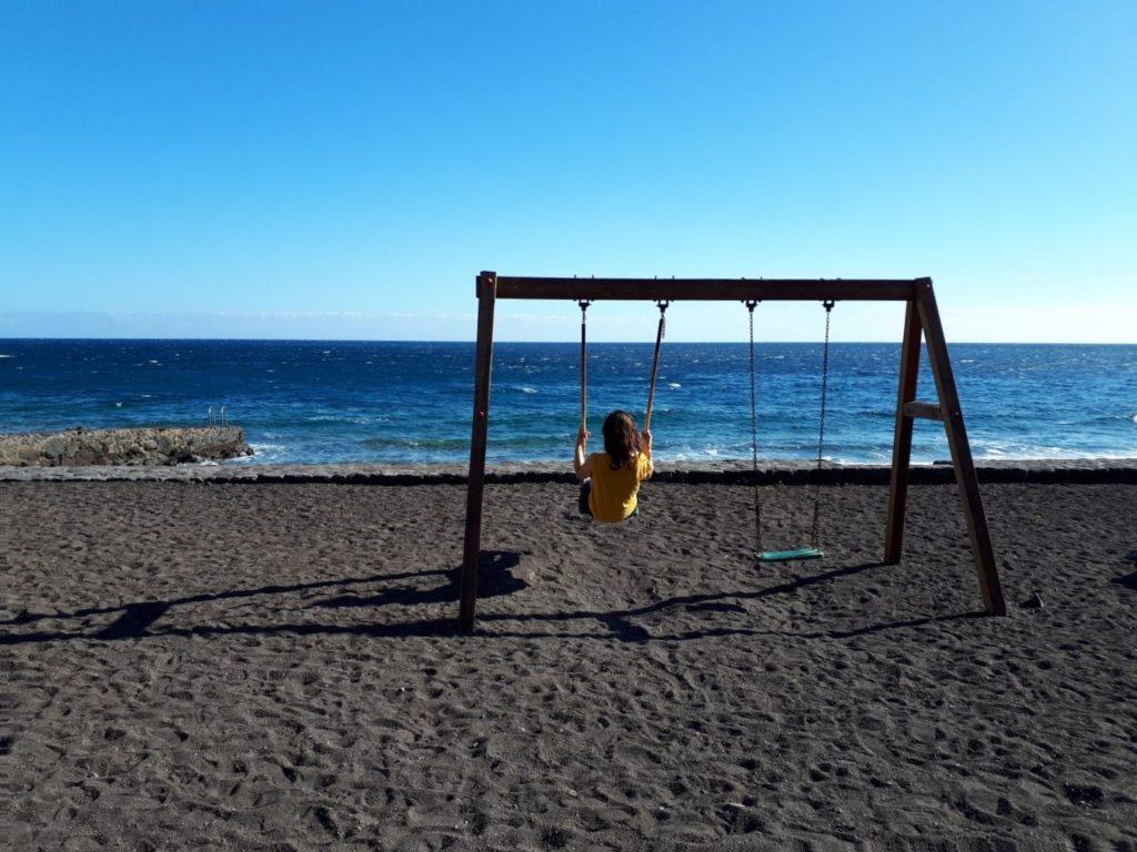 Schaukel Playa Almorranas El Hierro Kanaren