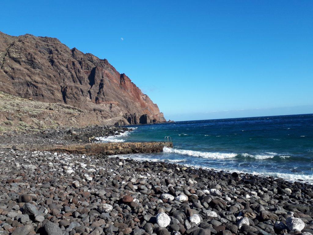 Schwimmeinstieg Playa Almorranas El Hierro Kanaren