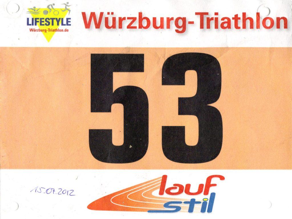 Triathlon Erlabrunn Würzburg