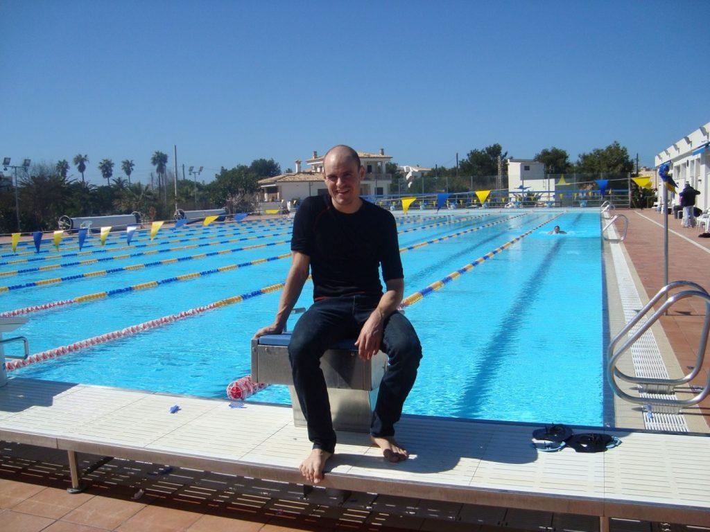 Schwimmbecken Colonia St. Jordi Mallorca