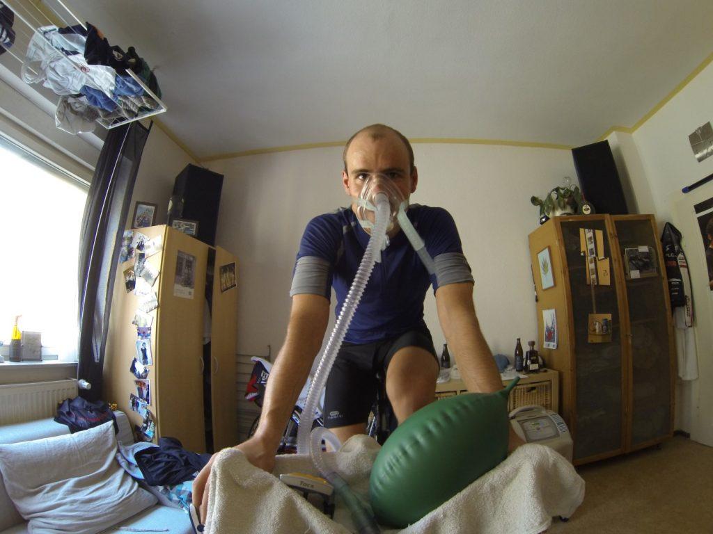 Hypoxie Höhentraining zu Hause
