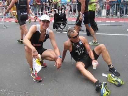 Deutsche Meisterschaft Triathlon Kurzdistanz olympisch Düsseldorf