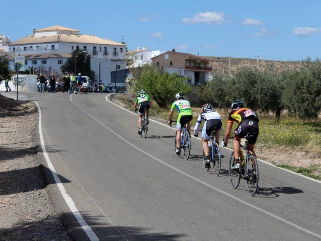 Radrennen Spanien Vuelta Cicloturista Almeria Ziel Lucainena Torres