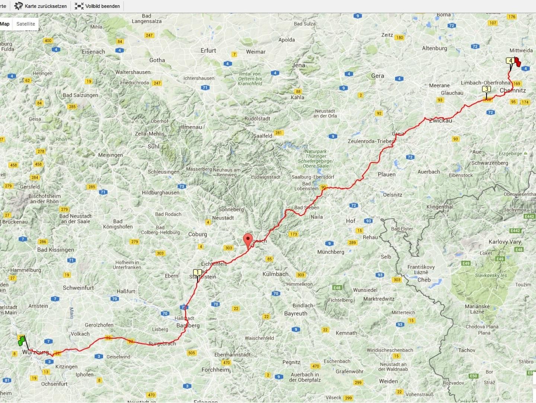 Radtour nach Auerswalde