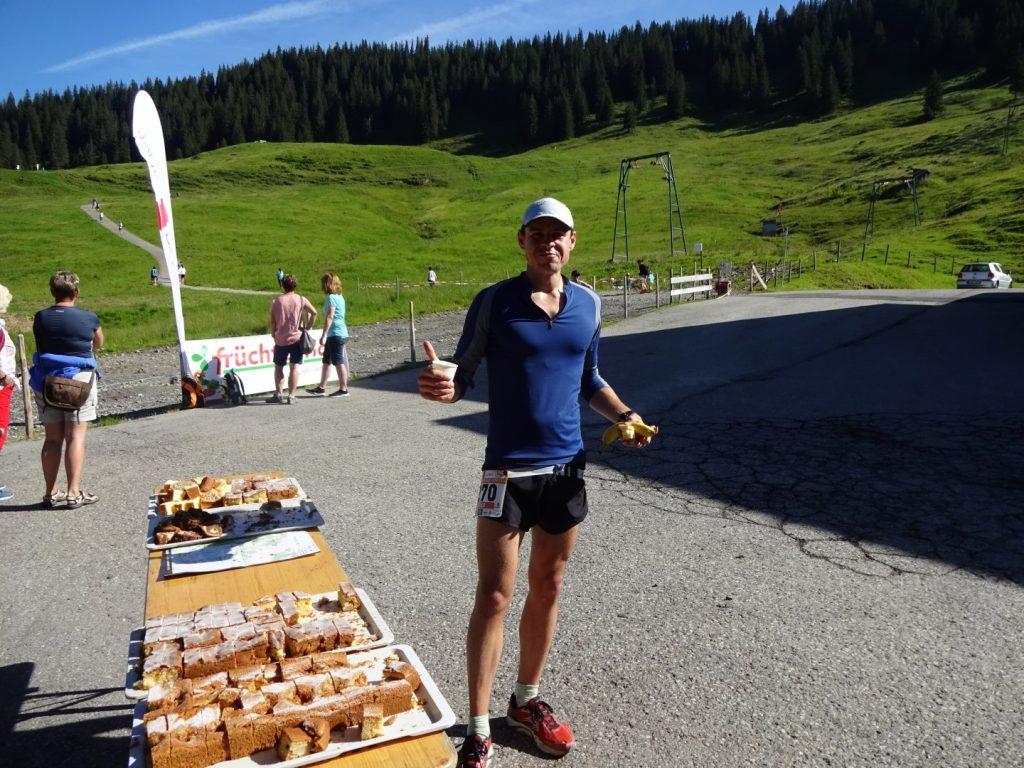 Verpflegung Verpflegungsstation Allgäu Panorama Marathon