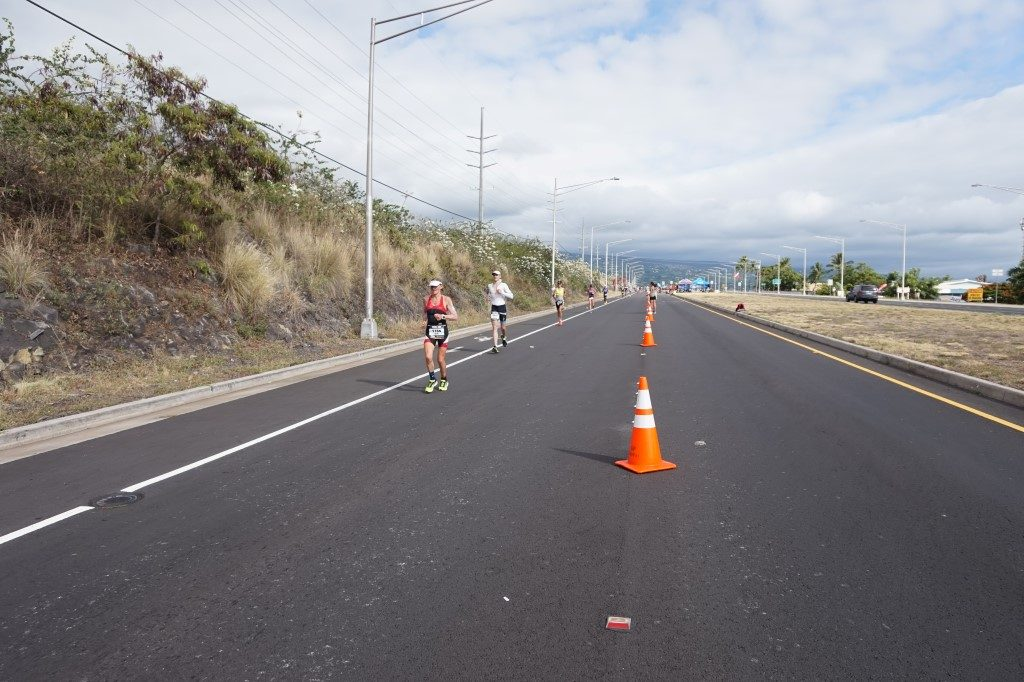 Laufen Laufstrecke Queen Ka'ahumanu Highway Ironman Hawaii Big Island