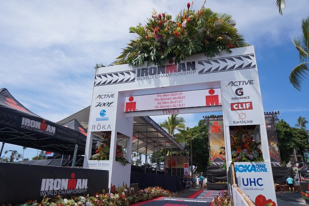 Ziel Kona Ironman Hawaii Big Island