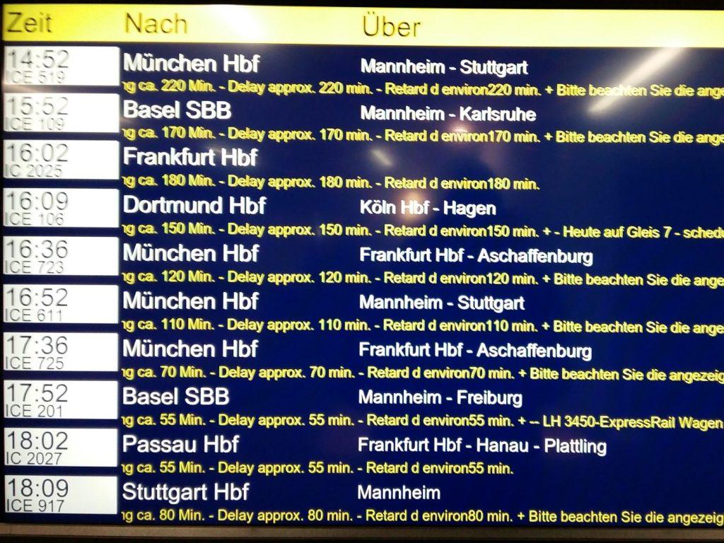 Deutsche Bahn Flughafen Frankfurt Fernbahnhof