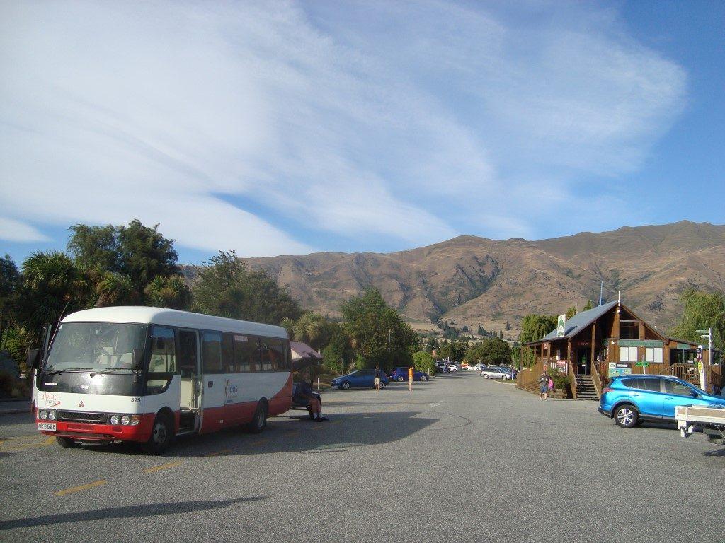 Alpine Connections Connexions Bus Wanaka Queenstown Südinsel Neuseeland