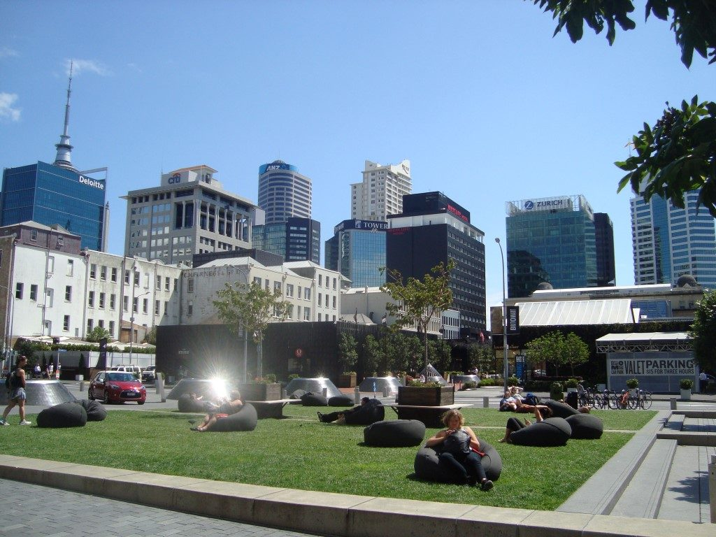 Queen Elizabeth Square Auckland Stadtzentrum Nordinsel Neuseeland