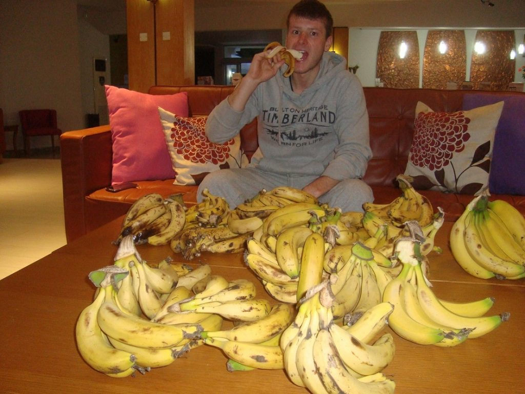 Vegan Ernährung Bananen Triathlon Markus Rolli Interview