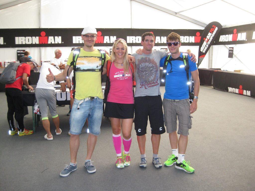 Checkin Ironman 70.3 WM Zell am See Österreich