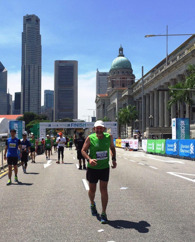 Singapur Dietrich Eberle 1000 Marathon Ultra